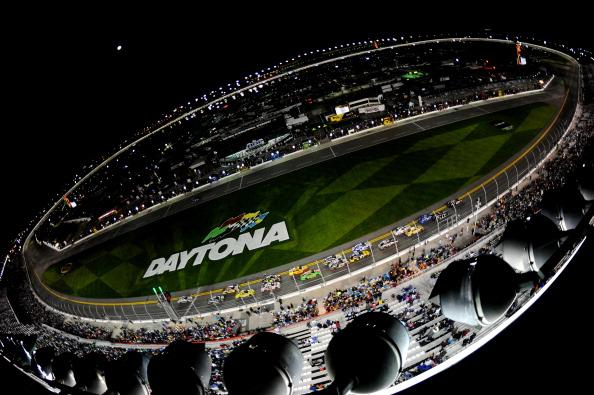 A general view of the NASCAR Sprint Cup Series Sprint Unlimited at Daytona International Speedway on February 15, 2014 in Daytona Beach, Florida.  (Photo by Robert Laberge/Getty Images)