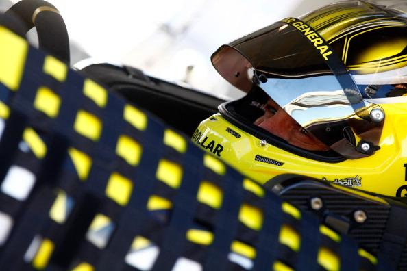 LAS VEGAS, NV - MARCH 07:  Matt Kenseth, driver of the #20 Dollar General Toyota, prepares to drive during qualifying for the NASCAR Sprint Cup Series Kobalt 400 at Las Vegas Motor Speedway on March 7, 2014 in Las Vegas, Nevada.  (Photo by Brian Lawdermilk/Getty Images)