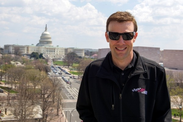 Matt Kenseth visited Washington DC on April 9, 2014. (RIR)