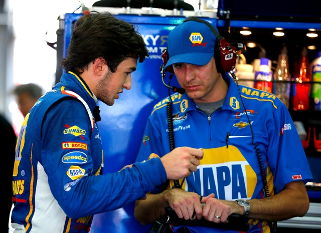Greg Ives has been crew chief for Chase Elliott at JR Motorsports in the Nationwide Series (Getty Images)