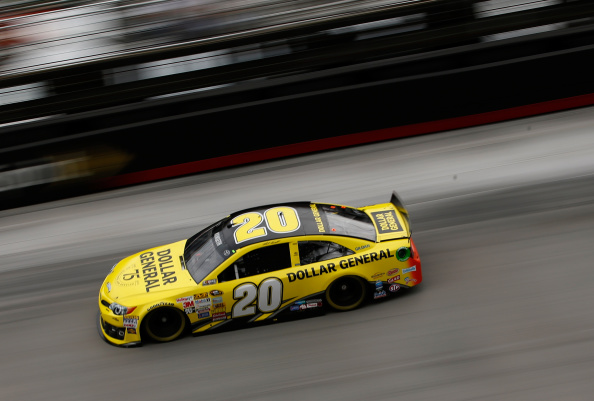 Matt Kenseth during qualifying for the NASCAR Sprint Cup Series Irwin Tools Night Race at Bristol Motor Speedway on August 22, 2014 in Bristol, Tennessee. (Getty Images)