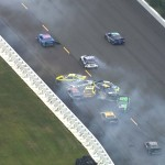 A huge pileup involved 17 cars Sunday at Pocono (NASCAR )