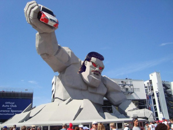 A bet's a bet, Miles the Monster. Jeff Gordon won, so you must pay homage to his early years for the remainder of 2014.