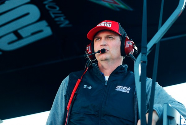 Steve Letarte has been with Hendrick Motorsports since 1995. (Getty Images)