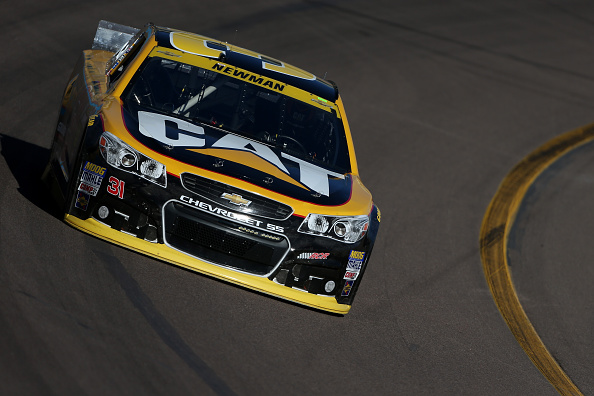 AVONDALE, AZ - NOVEMBER 08:  Ryan Newman, driver of the #31 Caterpillar Chevrolet, practices for the NASCAR Sprint Cup Series Quicken Loans 500 at Phoenix International Raceway on November 8, 2014 in Avondale, Arizona.  (Photo by Todd Warshaw/Getty Images)
