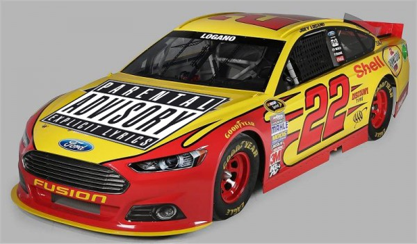 """For anyone who was listening to Joey Logano's radio frequency during Sunday's race, we propose a special paint scheme for Homestead."""