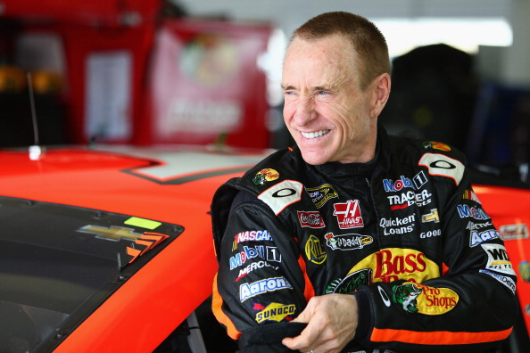 Mark Martin. (Getty Images)
