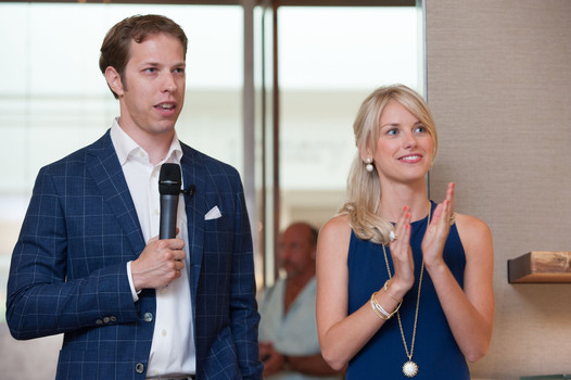 Brad Keselowski and Paige White have been dating for about a year. (Getty Images)