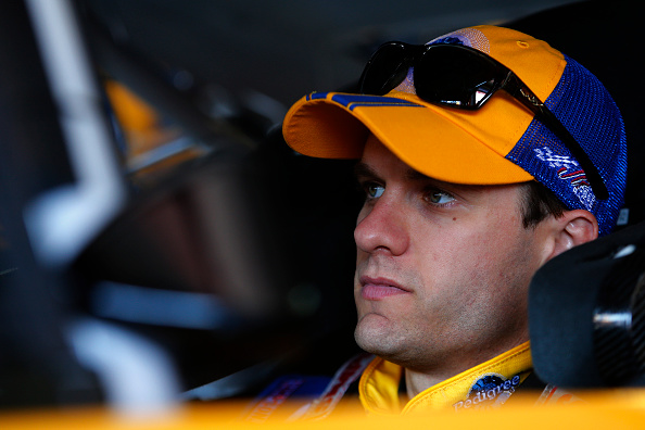 David Ragan prepares to practice for the NASCAR Sprint Cup Series GEICO 500 at Talladega Superspeedway on May 1, 2015 in Talladega, Alabama. (Getty Images)
