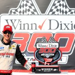 during the NASCAR XFINITY Series Winn Dixie 300 at Talladega Superspeedway on May 2, 2015 in Talladega, Alabama.