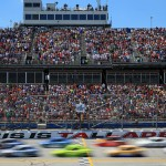 during the NASCAR Sprint Cup Series GEICO 500 at Talladega Superspeedway on May 3, 2015 in Talladega, Alabama.