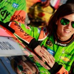 CHARLOTTE, NC - MAY 21:  Danica Patrick, driver of the #10 GoDaddy Chevrolet, stands on the grid prior to qualifying for the NASCAR Sprint Cup Series Coca-Cola 600 at Charlotte Motor Speedway on May 21, 2015 in Charlotte, North Carolina.  (Photo by Brian Lawdermilk/Getty Images)