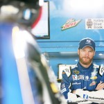 during practice for the NASCAR Sprint Cup Series FedEx 400 Benefiting Autism Speaks at Dover International Speedway on May 29, 2015 in Dover, Delaware.