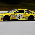 LONG POND, PA - JUNE 06:  Matt Kenseth, driver of the #20 Dollar General Toyota, practices for the NASCAR Sprint Cup Series Axalta 'We Paint Winners' 400 at Pocono Raceway on June 6, 2015 in Long Pond, Pennsylvania.  (Photo by Jerry Markland/Getty Images)