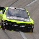 Sparta, KY - JULY 9: Paul Menard, driver of the #33 Richmond/Menards Chevrolet, drives during practice for the NASCAR XFINITY Series July Kentucky Race at Kentucky Speedway on July 9, 2015 in Sparta, Kentucky.  (Photo by Jeff Curry/Getty Images)