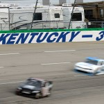Sparta, KY - JULY 9: A general view of turn 3 during practice for the NASCAR XFINITY Series July Kentucky Race at Kentucky Speedway on July 9, 2015 in Sparta, Kentucky.  (Photo by Jeff Curry/Getty Images)