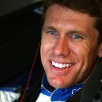 SPARTA, KY - JULY 10:  Carl Edwards, driver of the #19 Comcast/Minions Toyota, sits in his car in the garage area during practice for the NASCAR Sprint Cup Series Quaker State 400 Presented by Advance Auto Parts at Kentucky Speedway on July 10, 2015 in Sparta, Kentucky.  (Photo by Sarah Crabill/Getty Images)
