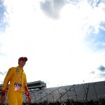 during qualifying for the NASCAR Sprint Cup Series 5-Hour Energy 301 at New Hampshire Motor Speedway on July 17, 2015 in Loudon, New Hampshire.