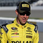 RICHMOND, VA - SEPTEMBER 11:  Matt Kenseth, driver of the #20 Dollar General Toyota, walks down pit road during qualifying for the NASCAR Sprint Cup Series Federated Auto Parts 400 at Richmond International Raceway on September 11, 2015 in Richmond, Virginia.  (Photo by Jerry Markland/Getty Images)