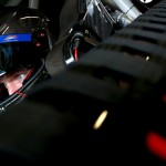 JOLIET, IL - SEPTEMBER 18:  Regan Smith, driver of the #7 TaxSlayer Bowl Chevrolet, sits in his car during practice for the NASCAR Xfinity Series Furious 7 300 at Chicagoland Speedway on September 18, 2015 in Joliet, Illinois.  (Photo by Sean Gardner/Getty Images)
