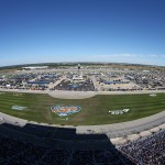JOLIET, IL - SEPTEMBER 20:  A general view of the NASCAR Sprint Cup Series myAFibRisk.com 400 at Chicagoland Speedway on September 20, 2015 in Joliet, Illinois.  (Photo by Matt Sullivan/Getty Images)
