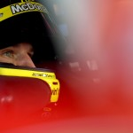 MARTINSVILLE, VA - OCTOBER 30:  Jamie McMurray, driver of the #1 McDonald's Chevrolet, sits in his car during practice for the NASCAR Sprint Cup Series Goody's Headache Relief Shot 500 at Martinsville Speedway on October 30, 2015 in Martinsville, Virginia.  (Photo by Jonathan Moore/Getty Images)