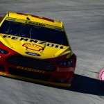 during practice for the NASCAR Sprint Cup Series Goody's Headache Relief Shot 500 at Martinsville Speedway on October 30, 2015 in Martinsville, Virginia.