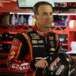 MARTINSVILLE, VA - OCTOBER 31:  Kevin Harvick, driver of the #4 Outback Steakhouse Chevrolet, stands in the garage area during practice for the NASCAR Sprint Cup Series Goody's Headache Relief Shot 500 at Martinsville Speedway on October 31, 2015 in Martinsville, Virginia.  (Photo by Rainier Ehrhardt/Getty Images)