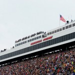 MARTINSVILLE, VA - NOVEMBER 01:  A general view of the grandstands prior to the start of the NASCAR Sprint Cup Series Goody's Headache Relief Shot 500 at Martinsville Speedway on November 1, 2015 in Martinsville, Virginia.  (Photo by Robert Laberge/Getty Images)
