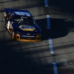 FORT WORTH, TX - NOVEMBER 07:  Chase Elliott, driver of the #9 NAPA Auto Parts Chevrolet, races during the NASCAR XFINITY Series O'Reilly Auto Parts Challenge at Texas Motor Speedway on November 7, 2015 in Fort Worth, Texas.  (Photo by Tom Pennington/Getty Images)