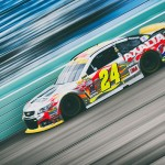 HOMESTEAD, FL - NOVEMBER 21:  (EDITOR'S NOTE: Image was processed using digital filters.) Jeff Gordon, driver of the #24 AXALTA Chevrolet, practices for the NASCAR Sprint Cup Series Ford EcoBoost 400 at Homestead-Miami Speedway on November 21, 2015 in Homestead, Florida.  (Photo by Jeff Curry/Getty Images)