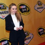 LAS VEGAS, NV - DECEMBER 04:  Singer/actress Sabrina Carpenter attends the 2015 NASCAR Sprint Cup Series Awards at Wynn Las Vegas on December 4, 2015 in Las Vegas, Nevada.  (Photo by Ethan Miller/Getty Images)