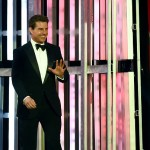 LAS VEGAS, NV - DECEMBER 04:  Actor Tom Cruise walks on stage to introduce NASCAR Sprint Cup Series driver Jeff Gordon during the 2015 NASCAR Sprint Cup Series Awards show at Wynn Las Vegas on December 4, 2015 in Las Vegas, Nevada.  (Photo by Ethan Miller/Getty Images)