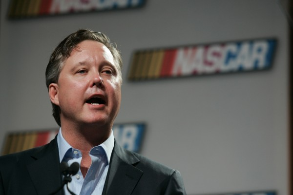 NASCAR Chairman Brian France (Photo by Jason Smith/Getty Images )