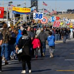 HAMPTON, GA - FEBRUARY 28:  Race fans walk on pit road before the NASCAR Sprint Cup Series Folds of Honor QuikTrip 500 at Atlanta Motor Speedway on February 28, 2016 in Hampton, Georgia.  (Photo by Kevin C. Cox/Getty Images)