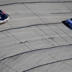 during the NASCAR Sprint Cup Series Folds of Honor QuikTrip 500 at Atlanta Motor Speedway on February 28, 2016 in Hampton, Georgia.