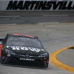 MARTINSVILLE, VA - APRIL 01:  Martin Truex Jr., driver of the #78 Furniture Row Toyota, practices for the NASCAR Sprint Cup Series STP 500 at Martinsville Speedway on April 1, 2016 in Martinsville, Virginia.  (Photo by Sarah Crabill/Getty Images)
