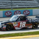 during practice for the NASCAR Camping World Truck Series Alpha Energy Solutions 250 at Martinsville Speedway on April 1, 2016 in Martinsville, Virginia.