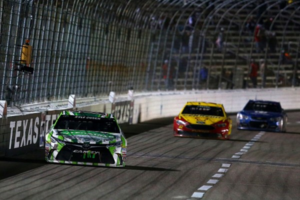 Kyle Busch led the final 34 laps at Texas.