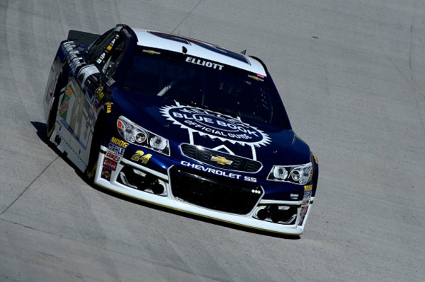Chase Elliott practices Friday at Bristol Motor Speedway (Getty Images)