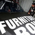 during practice for the NASCAR Sprint Cup Series TOYOTA OWNERS 400 at Richmond International Raceway on April 23, 2016 in Richmond, Virginia.