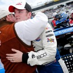 during the NASCAR XFINITY Series ToyotaCare 250 at Richmond International Raceway on April 23, 2016 in Richmond, Virginia.