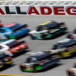 during the NASCAR XFINITY Series Sparks Energy 300 at Talladega Superspeedway on April 30, 2016 in Talladega, Alabama.