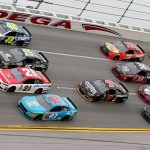 during the NASCAR Sprint Cup Series GEICO 500 at Talladega Superspeedway on May 1, 2016 in Talladega, Alabama.