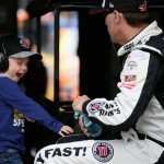 during practice for the NASCAR Sprint Cup Series AAA 400 Drive For Autism at Dover International Speedway on May 13, 2016 in Dover, Delaware.