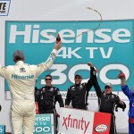 during the NASCAR XFINITY Series Hisense 300 at Charlotte Motor Speedway on May 28, 2016 in Charlotte, North Carolina.