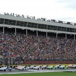 The NASCAR Sprint Cup Bank of America 500 will be run on Saturday October 8.  Live coverage will be on NBC starting at 6:30 p.m. ET with the green flag coming just after 7:00 p.m. ET. (Getty Images)