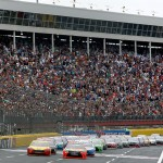 during the NASCAR Sprint Cup Series Coca-Cola 600 at Charlotte Motor Speedway on May 29, 2016 in Charlotte, North Carolina.