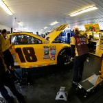 """during practice for the NASCAR Sprint Cup Series Axalta """"We Paint Winners"""" 400 at Pocono Raceway on June 3, 2016 in Long Pond, Pennsylvania."""