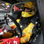 during practice for the NASCAR Sprint Cup Series FireKeepers Casino 400 at Michigan International Speedway on June 10, 2016 in Brooklyn, Michigan.